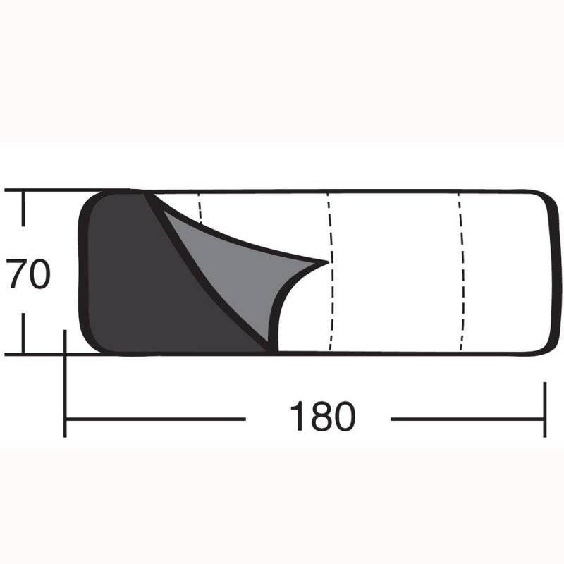 Детский спальный мешок «Пионер 150»