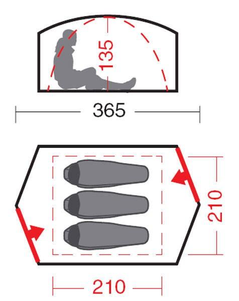 Палатка «Ангара 3»